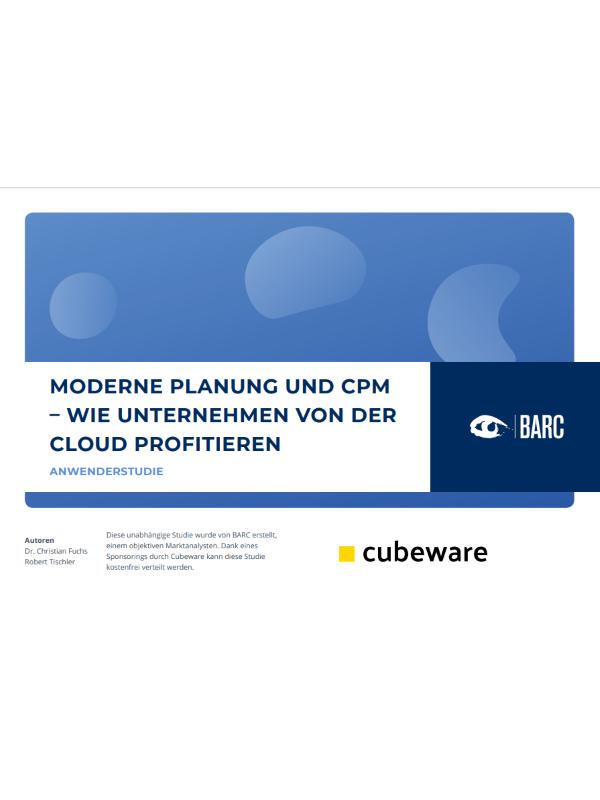 Moderne Planung und CPM: Wie Unternehmen von der Cloud profitieren