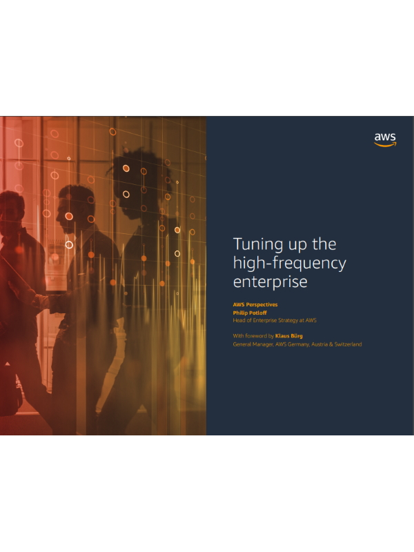 Tuning up the high-frequency enterprise