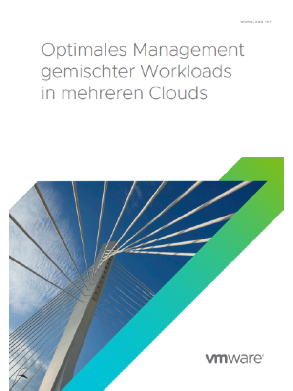 Optimales Management gemischter Workloads in mehreren Clouds