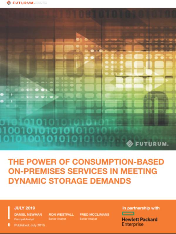 Verbrauchsbasierte On-Premises-Services zur Erfüllung dynamischer Speicheranforderungen