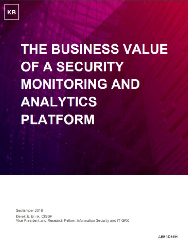 Der Geschäftswert einer Sicherheitsüberwachungs- und Analyseplattform