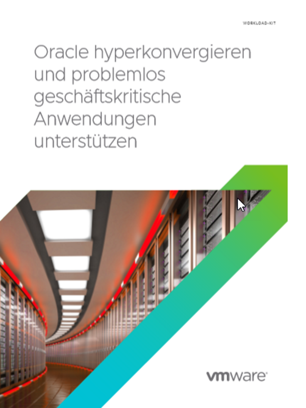 Oracle hyperkonvergieren und problemlos geschäftskritische Anwendungen unterstützen