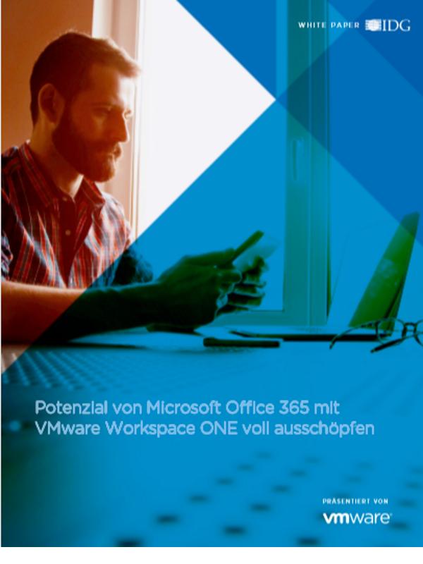 Potenzial von Microsoft Office365 mit VMware WorkspaceONE voll ausschöpfen