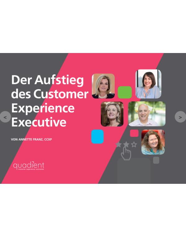 Der Aufstieg des Customer Experience Executive