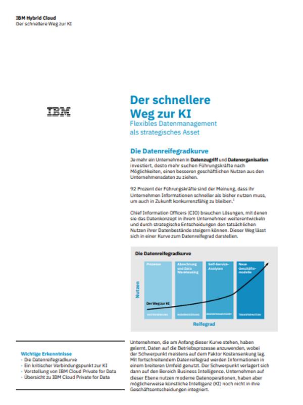 Der schnellere Weg zur KI – Flexibles Datenmanagement als strategisches Asset