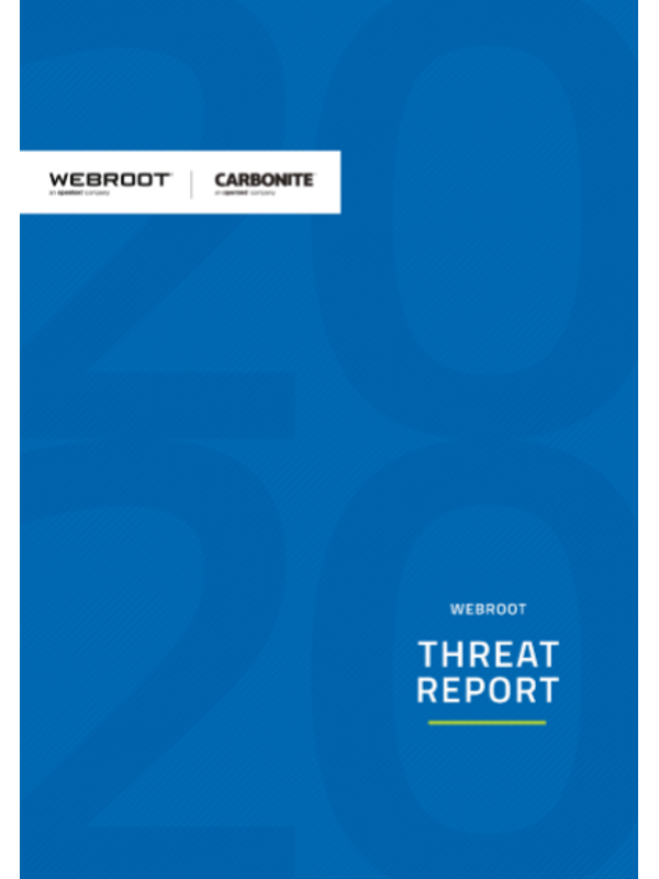 Webroot-Threat Report 2020