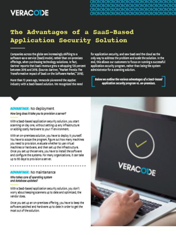 Die Vorteile einer SaaS-basierten Anwendungssicherheitslösung