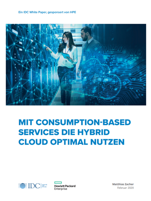 Studie: Mit Consumption-based Services die Hybrid Cloud optimal nutzen