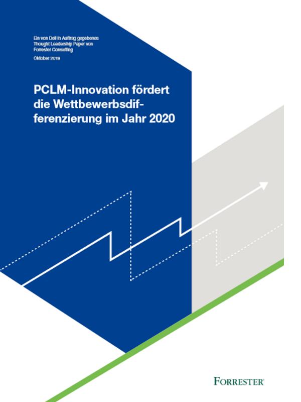 Studie: PCLM-Innovation fördert die Wettbewerbsdifferenzierung im Jahr 2020