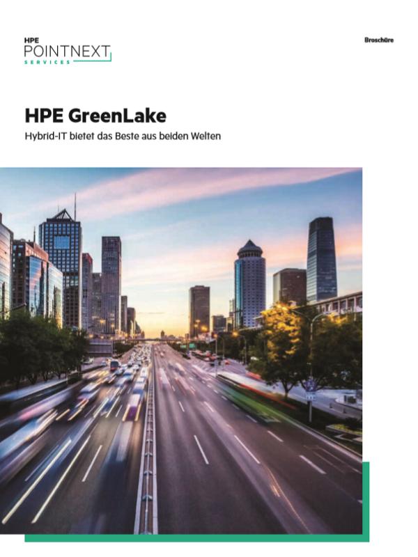 HPE GreenLake: Hybrid-IT bietet das Beste aus beiden Welten