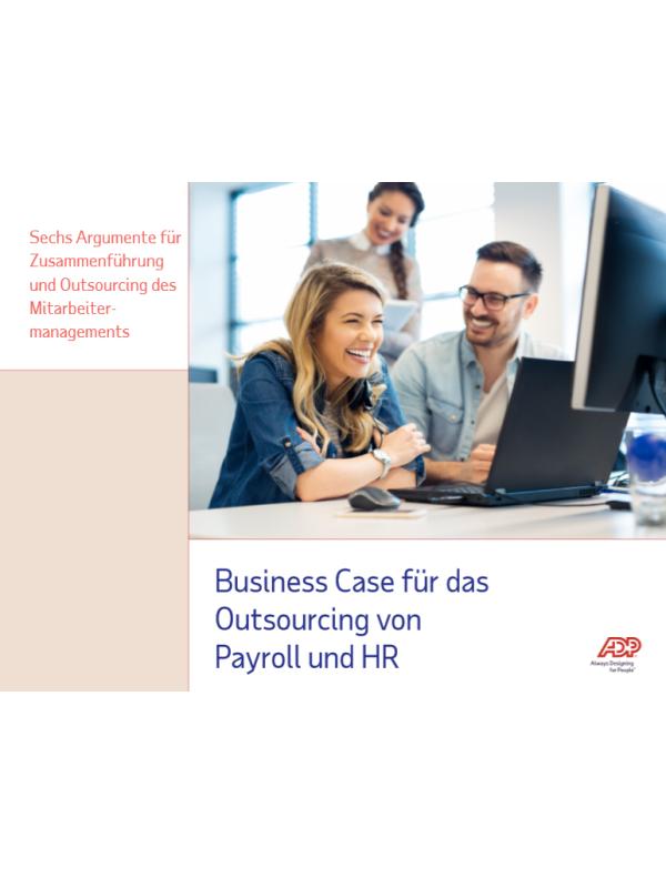 Business Case für das Outsourcing von Payroll und HR