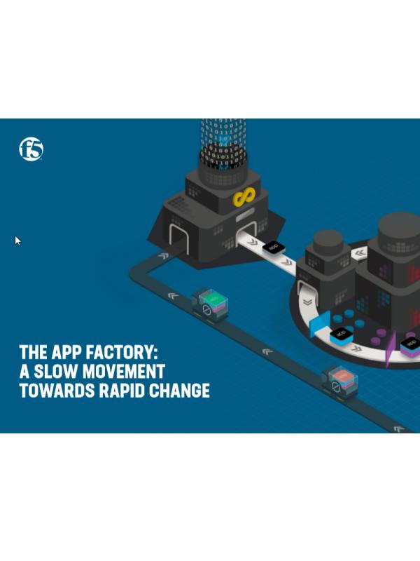 Application Factory: Eine langsame Bewegung hin zum schnellen Wandel