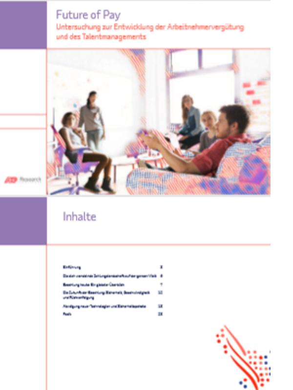 Future of Pay: Untersuchung zur Entwicklung der Arbeitnehmervergütung und des Talentmanagements