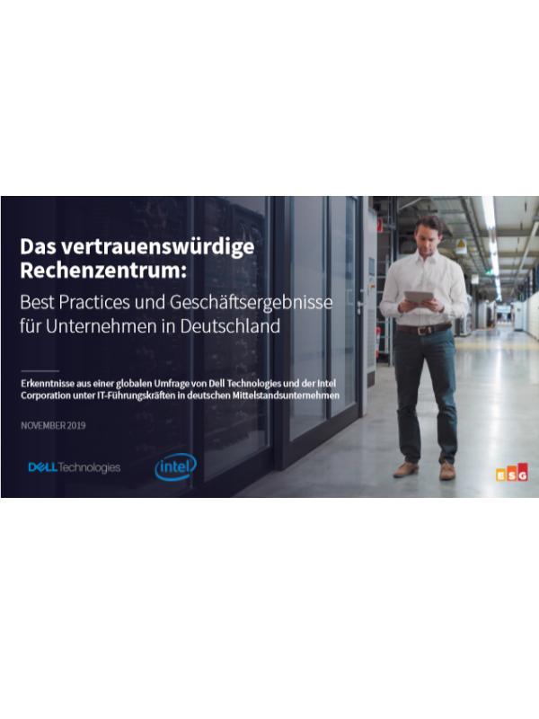 Das vertrauenswürdige Rechenzentrum: Best Practices und Geschäftsergebnisse für Unternehmen in Deutschland