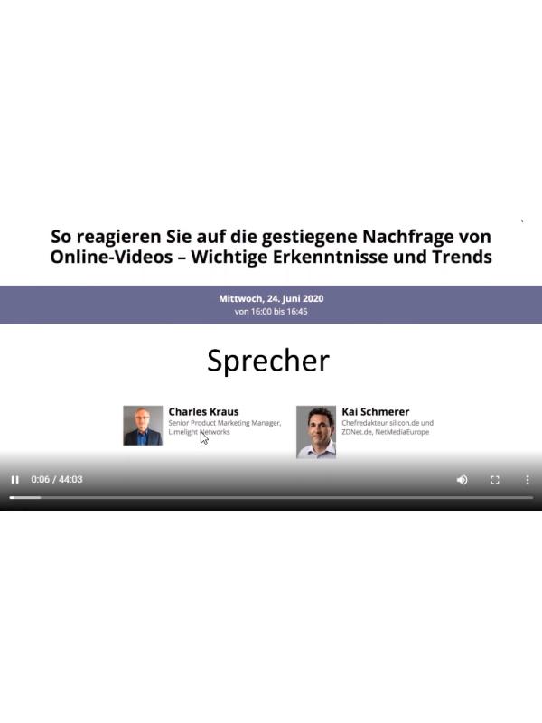 So reagieren Sie auf die gestiegene Nachfrage von Online-Videos – Wichtige Erkenntnisse und Trends