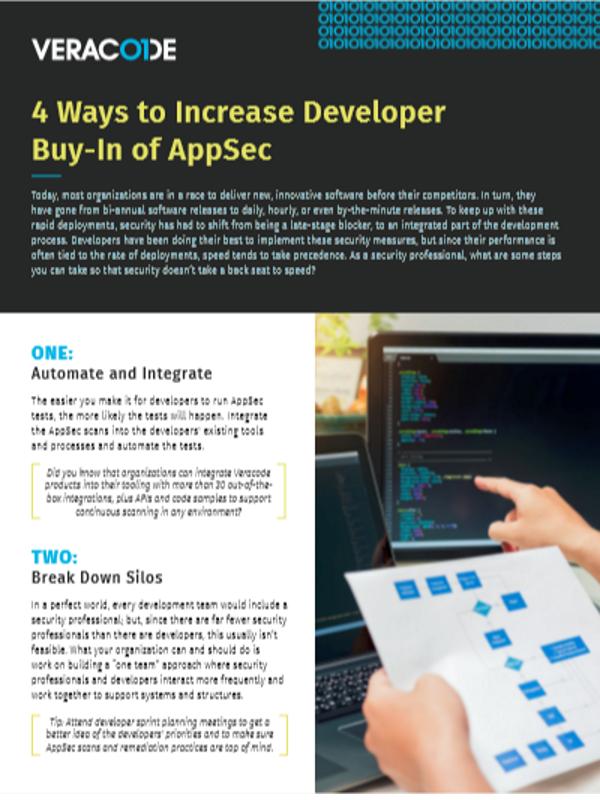 4 Gründe für Entwickler zum Einstieg in AppSec