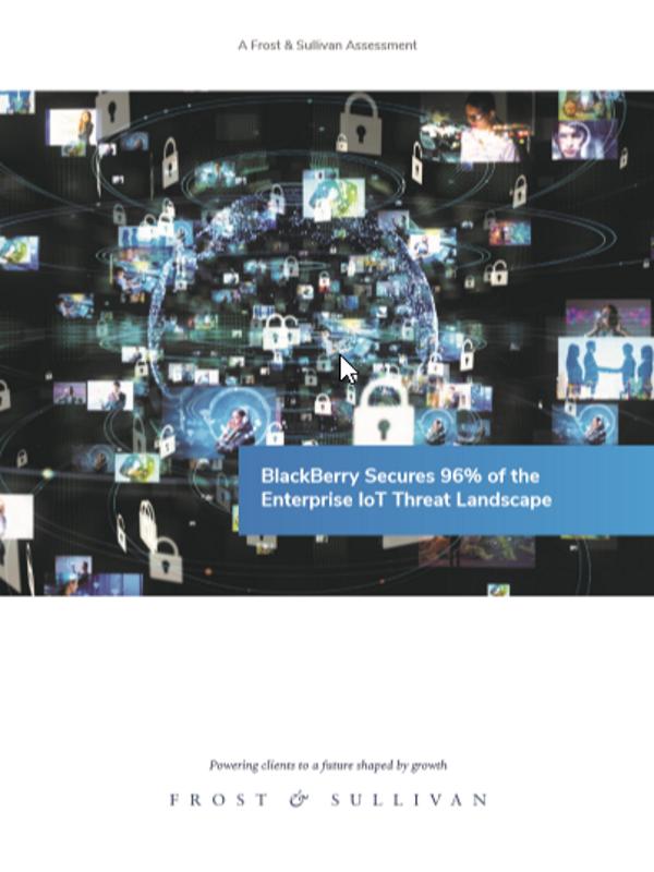 Lösungen von BlackBerry schützen Unternehmen vor 96 Prozent aller relevanten Cyber-Bedrohungen