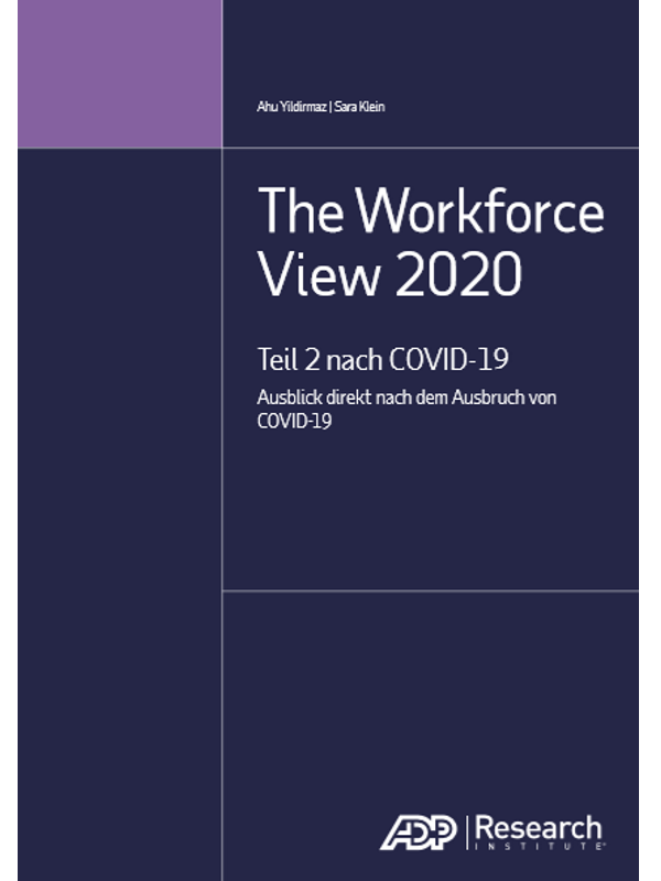 The Workforce View 2020 – Teil 2 nach COVID-19