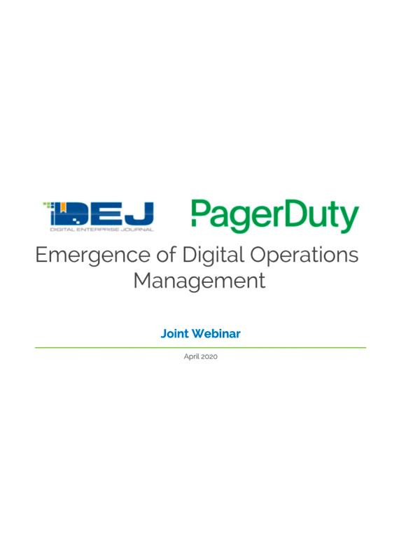 Die Entstehung des Digital Operations Management (Webinar)
