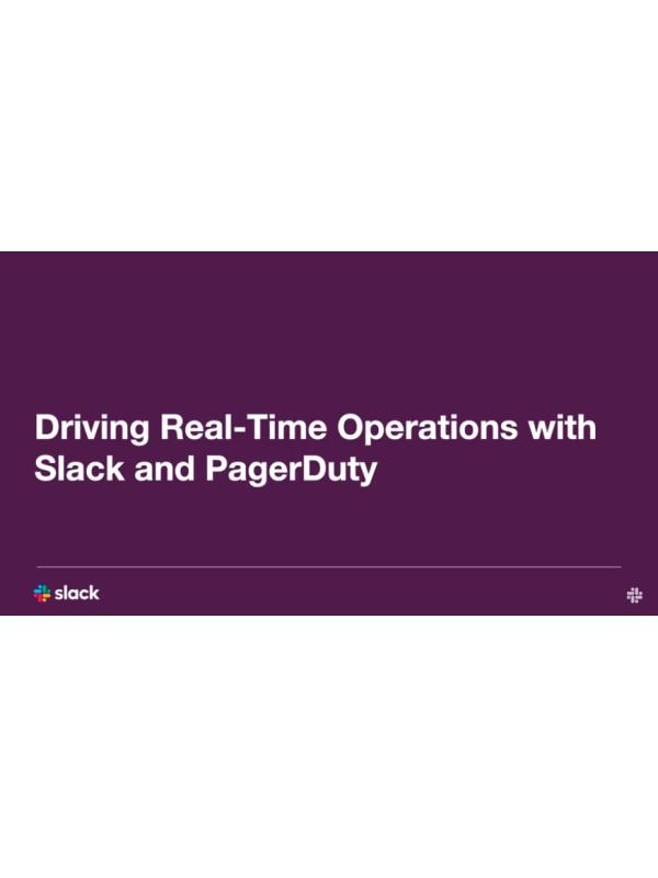 Echtzeitbetrieb mit Slack und PagerDuty (Webinar)