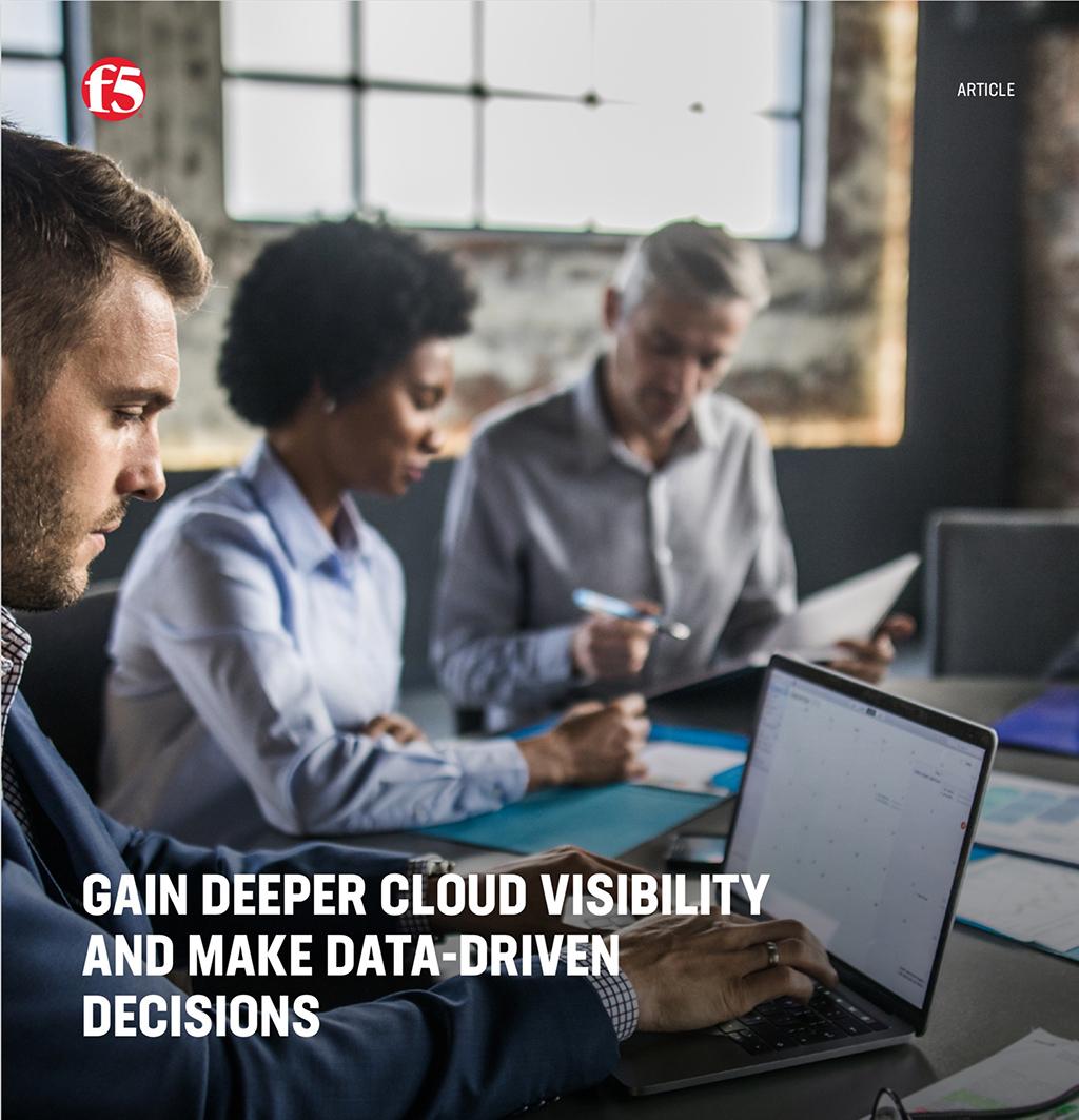 Erhöhen Sie die Sichtbarkeit der Cloud und treffen Sie datengestützte Entscheidungen