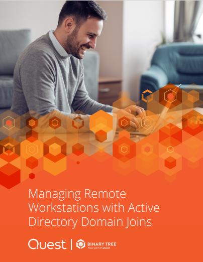 Management von Fernarbeitsstationen mit Active Directory Domäne