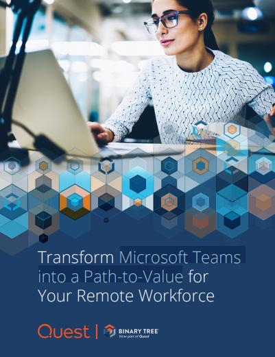 Wandeln Sie Microsoft Teams in den optimalen Weg für Ihre Remote-Arbeitskräfte um