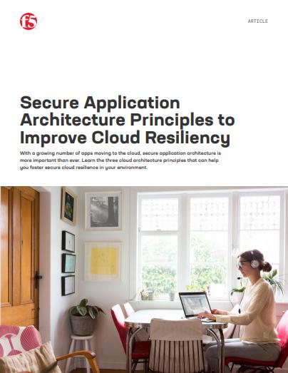 Sichere Prinzipien der Anwendungsarchitektur, um die Belastbarkeit der Clouds zu optimieren.