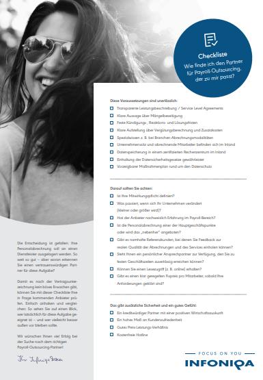 Checkliste – Was muss ich bei der Suche nach einem passenden BPO-Partner beachten?