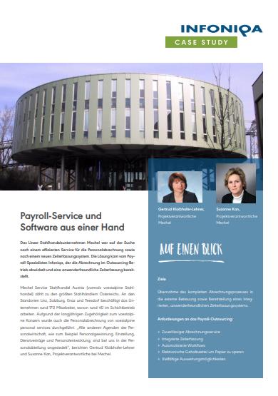 Payroll-Service und Software aus einer Hand