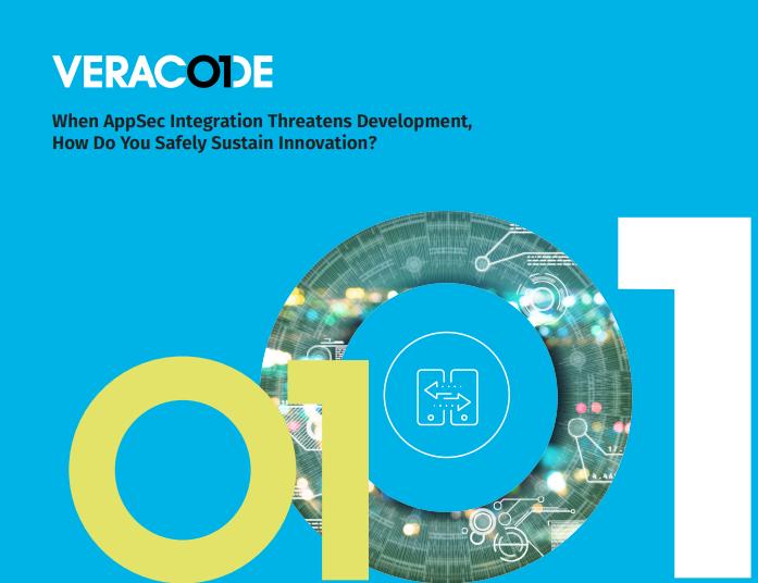 Wie erhalten Sie Innovation sicher, wenn die AppSec-Integration die Entwicklung bedroht?