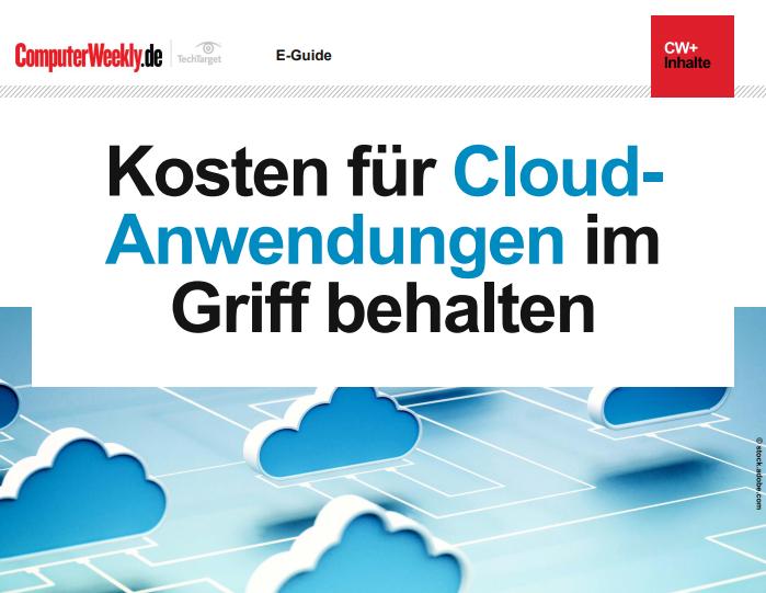 Kosten für Cloud-Anwendungen im Griff behalten