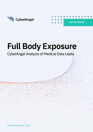 Ganzkörper Ausstellung: CybelAngel-Analyse von medizinischen Datenlecks