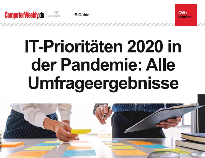 IT-Prioritäten 2020 in der Pandemie: Alle Umfrageergebnisse