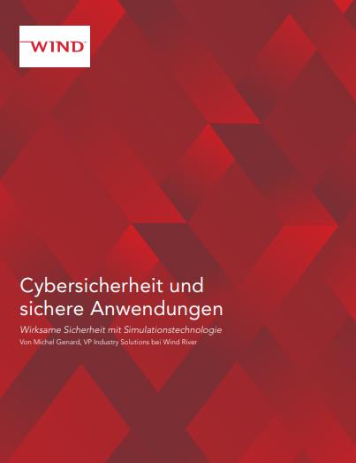 Cybersicherheit und sichere Anwendungen