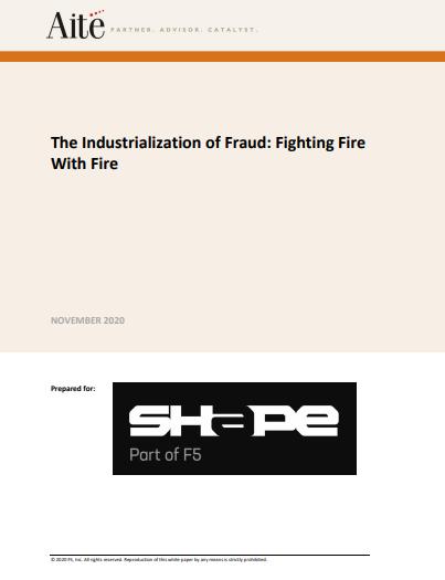 Die Industrialisierung des Betrugs: Feuer mit Feuer bekämpfen