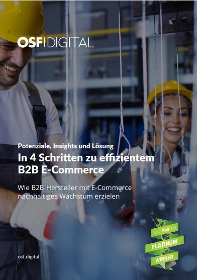 In 4 Schritten zu effizientem B2B E-Commerce