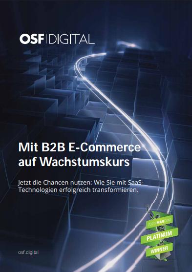 Mit B2B E-Commerce auf Wachstumskurs
