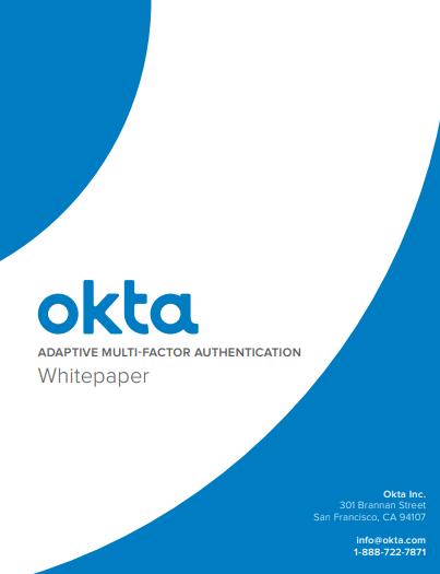 Einführung in Okta Adaptive MFA
