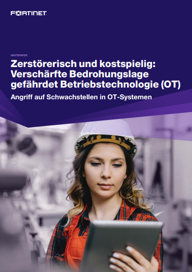 Zerstörerisch und kostspielig: Verschärfte Bedrohungslage gefährdet Betriebstechnologie (OT)