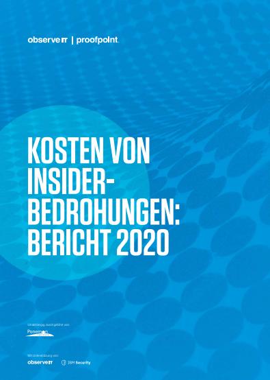 Kosten von Insider-bedrohungen: Bericht 2020