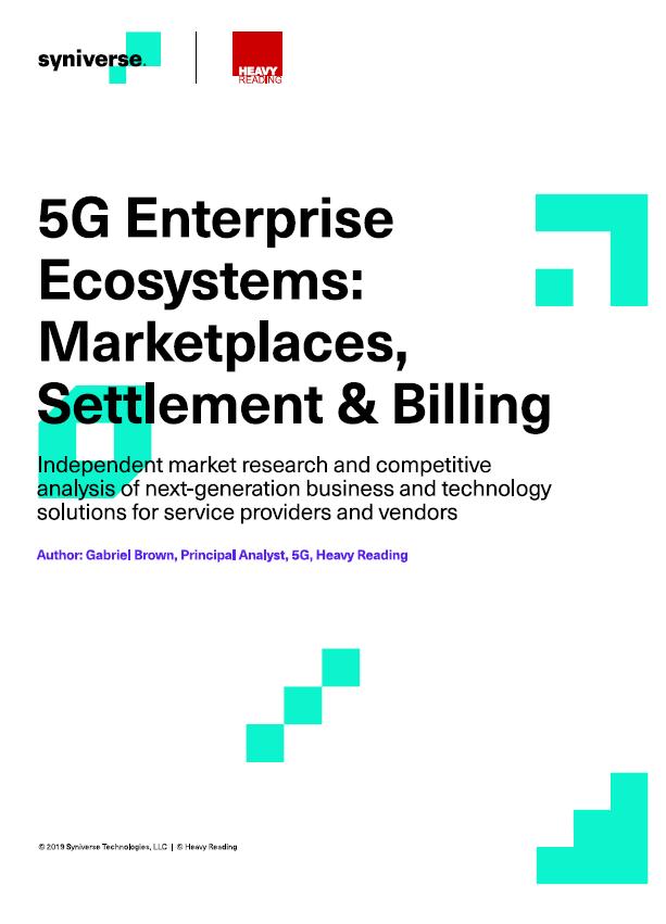 5G Enterprise Ecosystems: Marktplätze, Abwicklung und Abrechnung