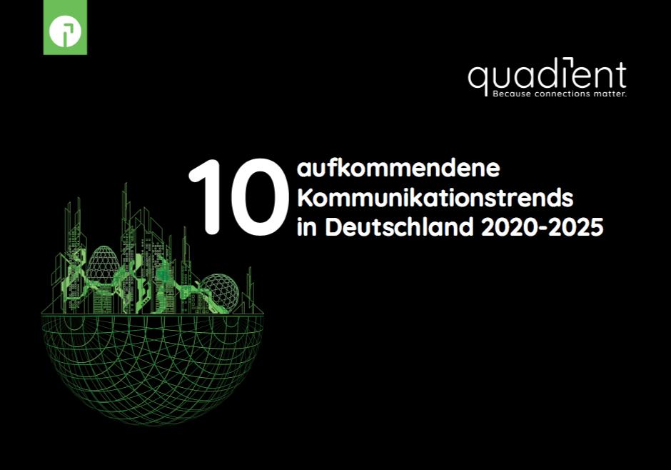 10 Aufkommendene Kommunikationstrends in Deutschland 2020-2025