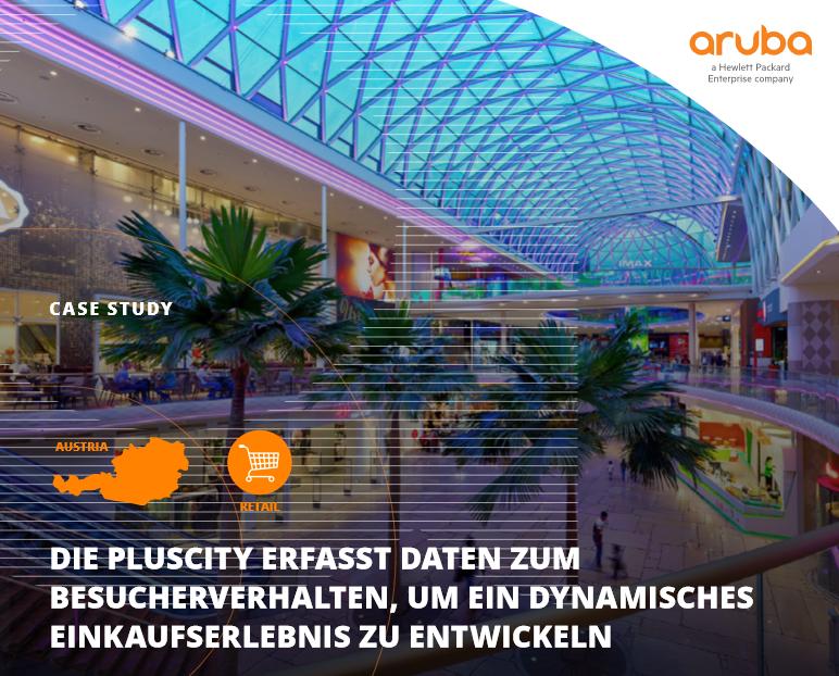 Die Pluscity erfasst Daten zum Besucherverhalten,um ein dynamisches Einkaufserlebnis zu entwickeln