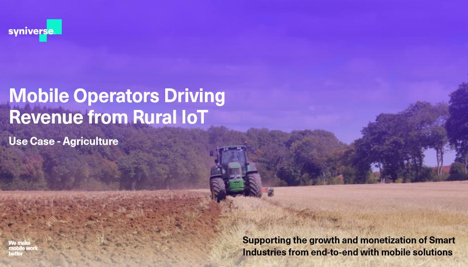Landwirtschaft-Einnahmen durch IoT-Strategien erhöhen – Anwenderbericht