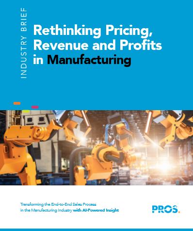 Preisgestaltung, Umsatz und Gewinn in der Herstellerindustrie überdenken