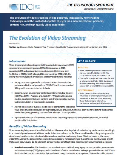 Die Evolution des Video-Streamings