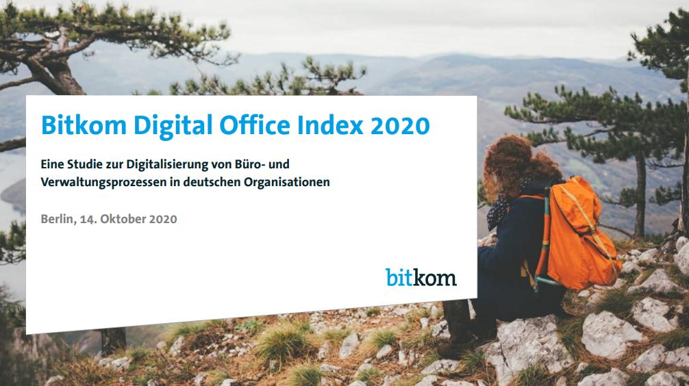 Bitkom Digital Office Index 2020