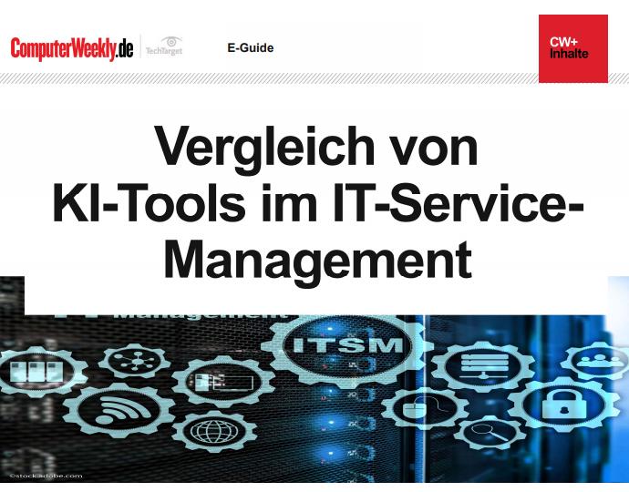 Vergleich von KI-Tools im IT-Service-Management