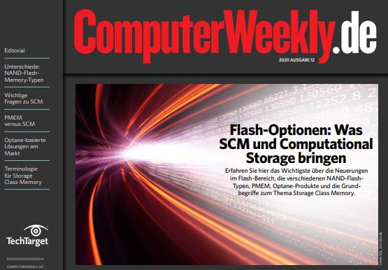 Flash-Optionen: Was SCM und Computational Storage bringen